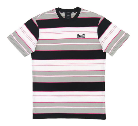 Huf Upland S/S Knit Top Black