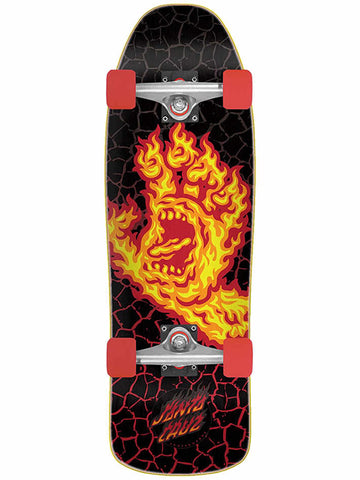 Santa Cruz Complete Flame Hand Mini Cruiser 8.39
