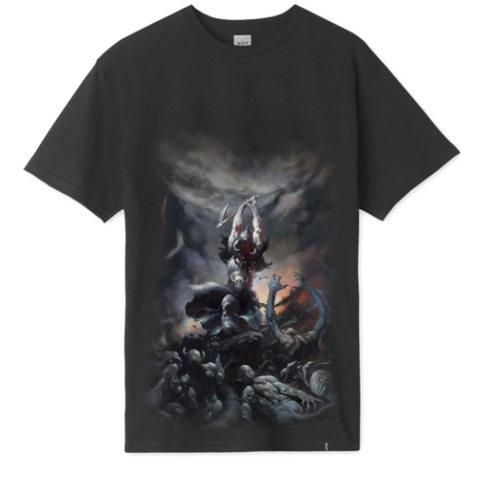 Huf - Frazetta Death Dealer Tee