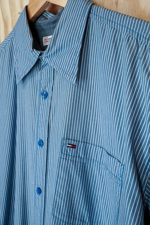Tommy Hilfiger striped shirt - size L/XL