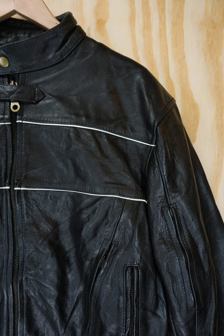 Motor jacket black - size L