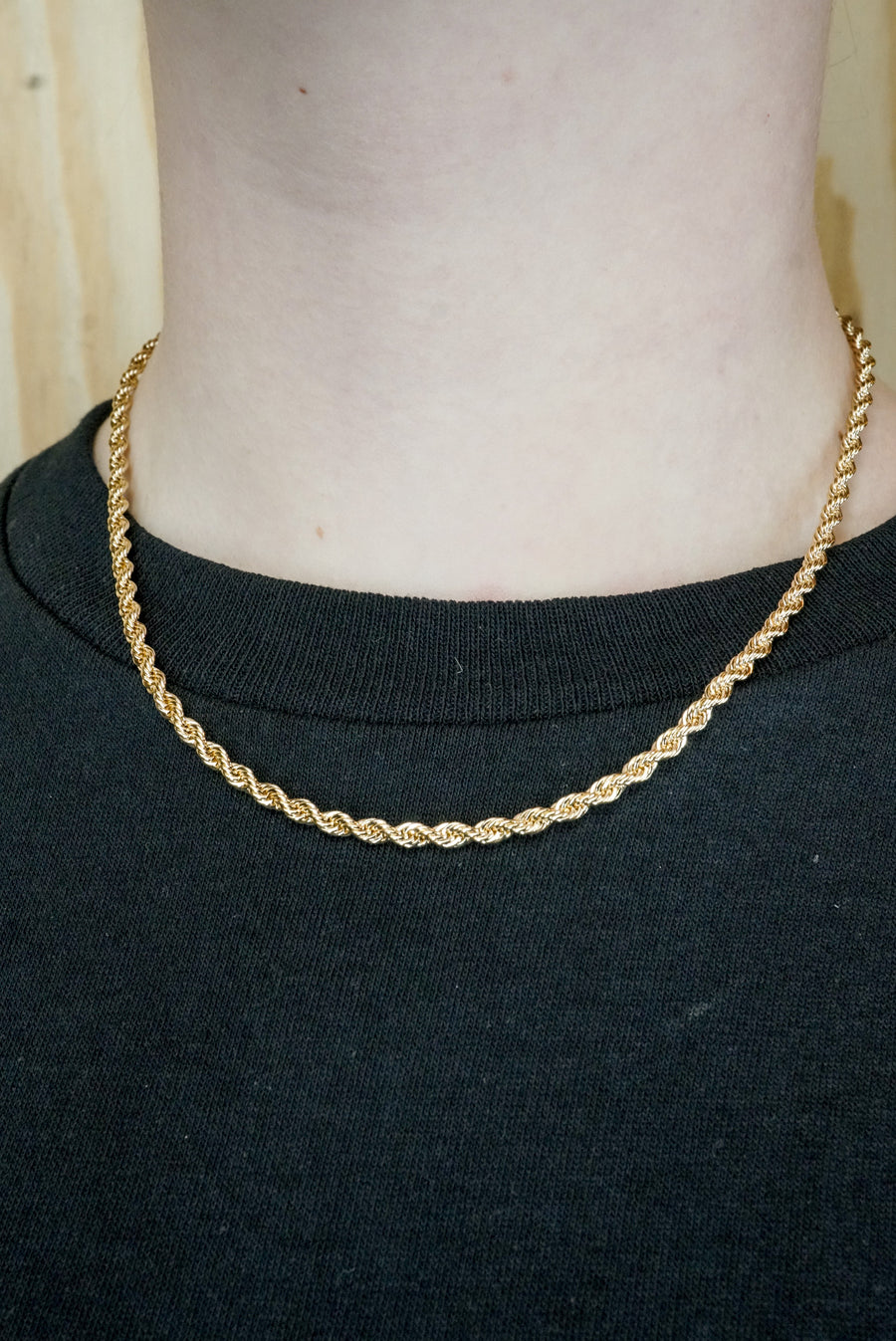 Necklace rope chain medium
