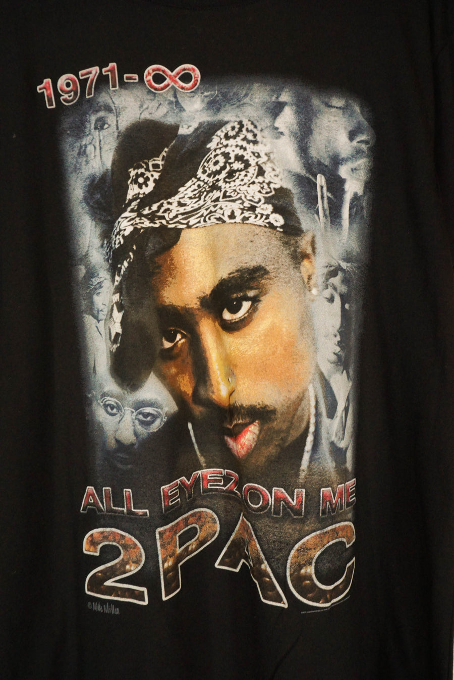 "2Pac ""All eyez on me"" tee - size M/L"