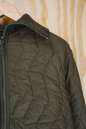 Quilted army jacket - size S,M,L
