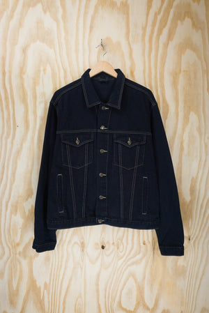Jiglers denim jacket black  - size L