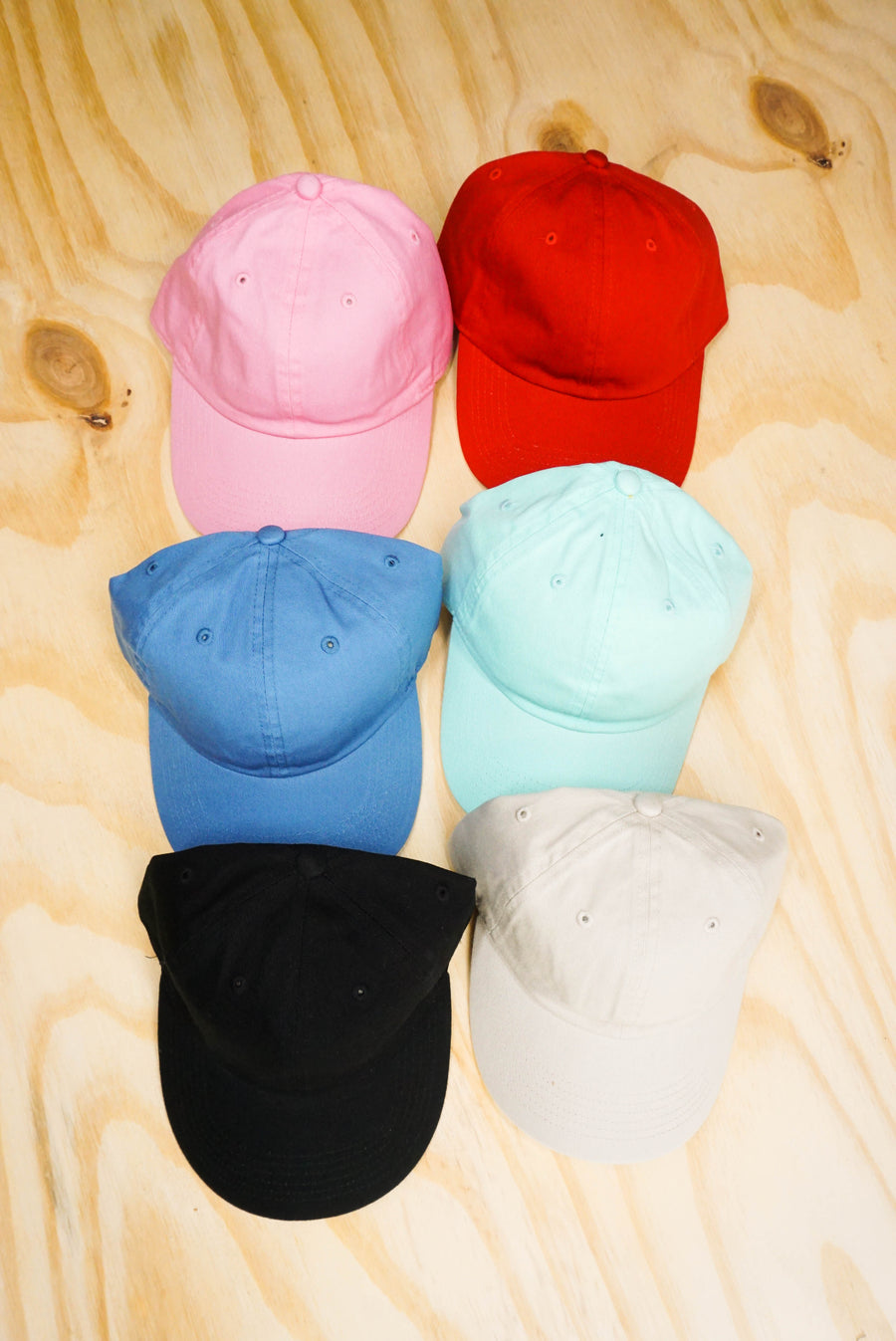 Dad cap plain cotton