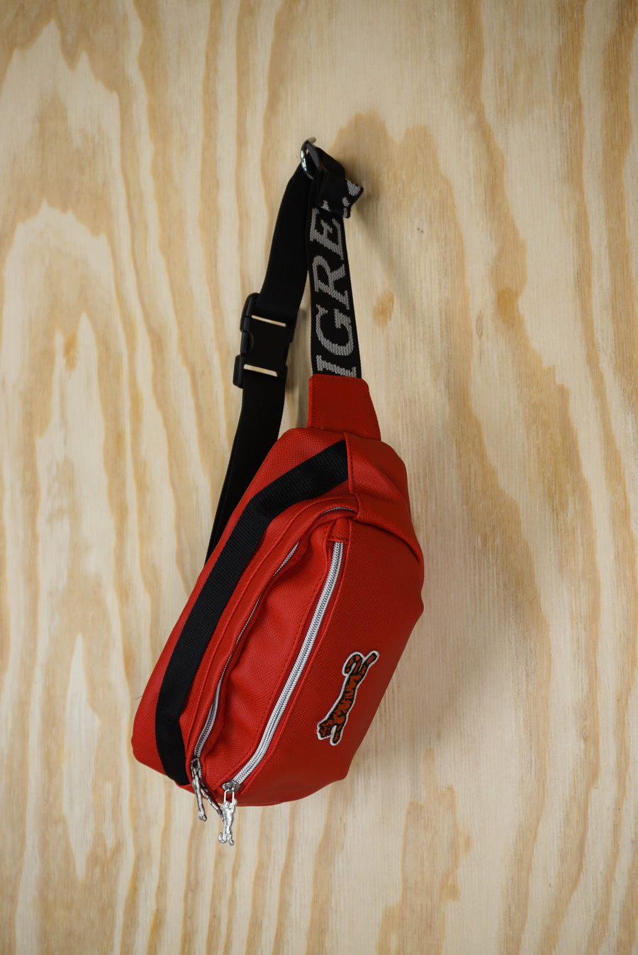 """Le Tigre"" bum bag red"