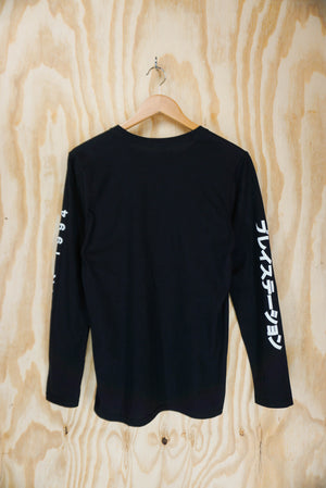 Playstation japan long sleeve tee - size S