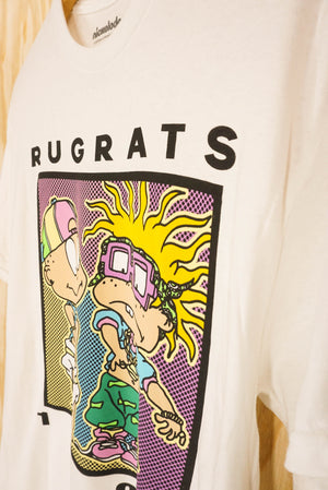 Rugrats tee white - size M