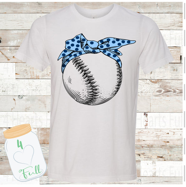 Bandana baseball Customize your Colors Football Tee Unisex Adult