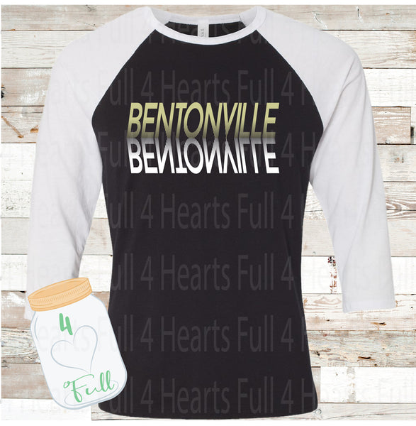 Reflection Bentonville Raglan Tee