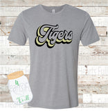 Youth Tigers White or Gray Tee