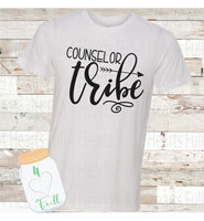 Counselor Tribe Tee Unisex Adult
