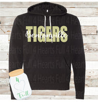 Youth Bentonville Tigers Black Hoodie
