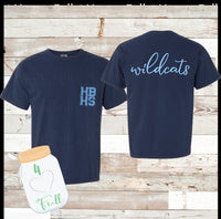 Youth & Adult HBHS Wildcats Tee