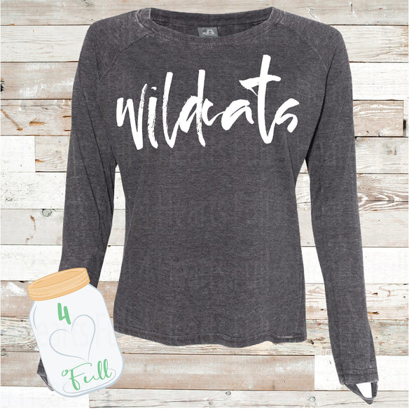 XL Adult Wildcats pullover