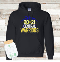 Warriors Basketball Hoodie Adult and Youth