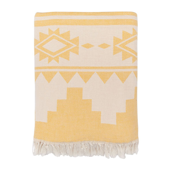 Arizona Knotty Beach Blanket - Saffron