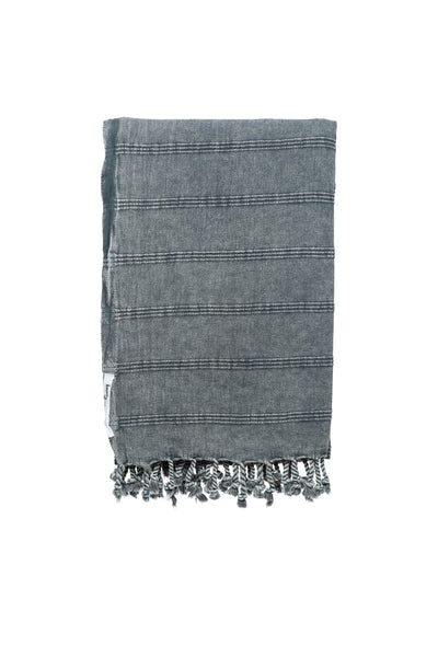 KNOTTY STONEWASH Beach Blanket / Throw
