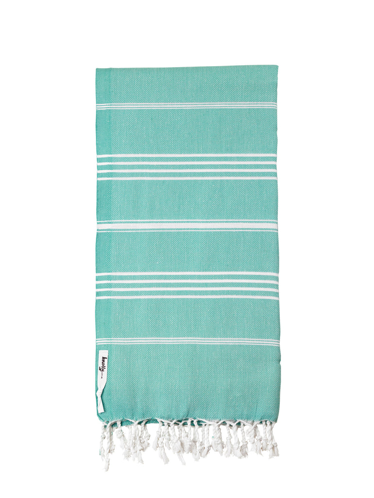 Junior Original Turkish Towels - Hand Towel / Gym Towel - Knotty.com.au