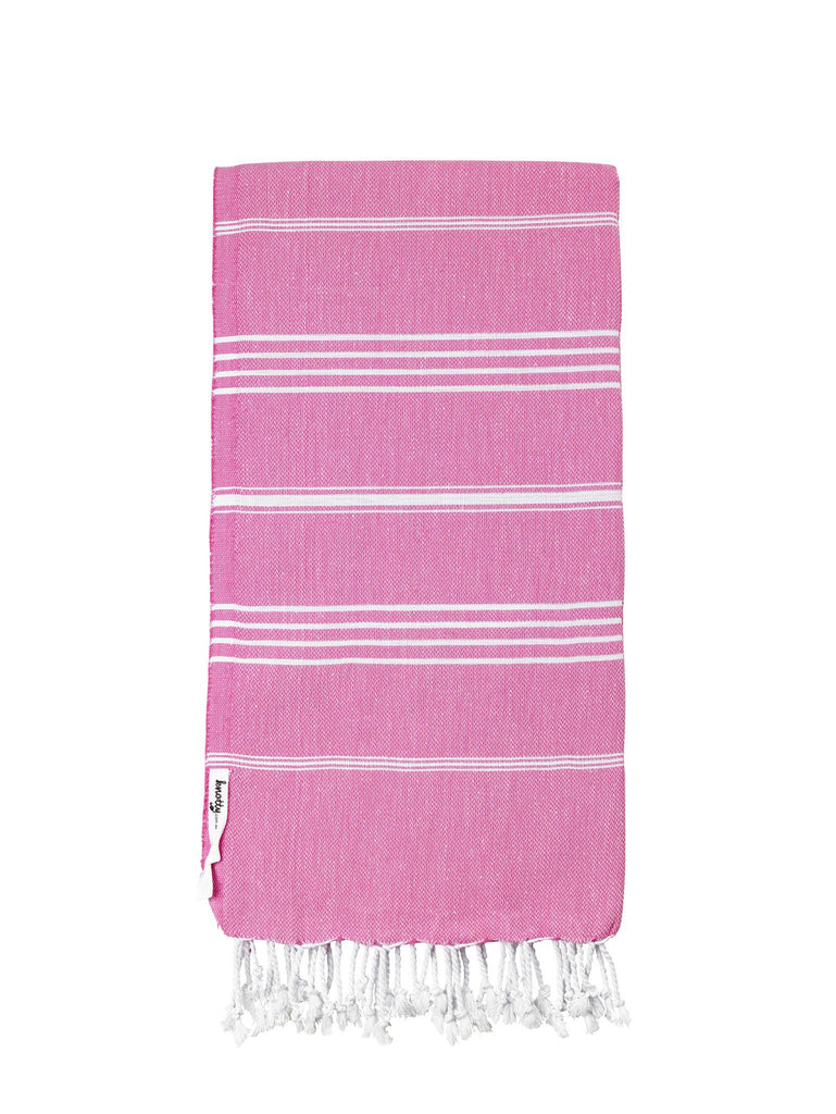 Knotty Original Turkish Towel - BUBBLEGUM
