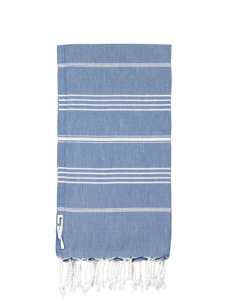 Knotty Original Turkish Towel - DENIM