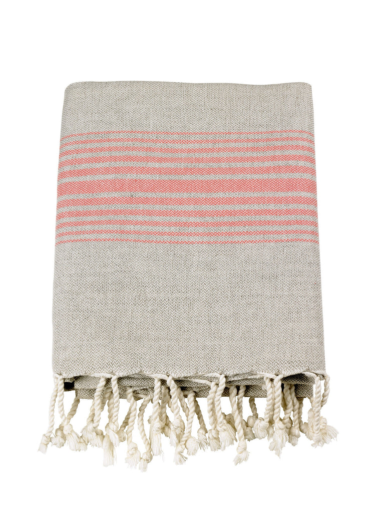 Linen Knotty Turkish Towels