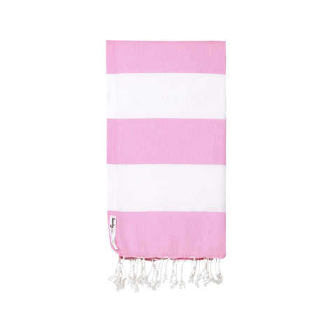 Knotty Capri Turkish Towel - BLOSSOM