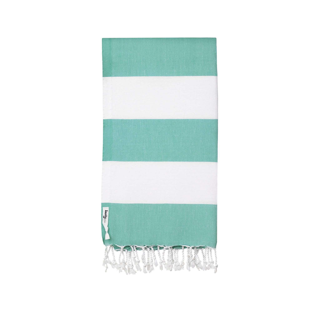 Knotty Capri Turkish Towel - CARIBBEAN - Knotty.com.au