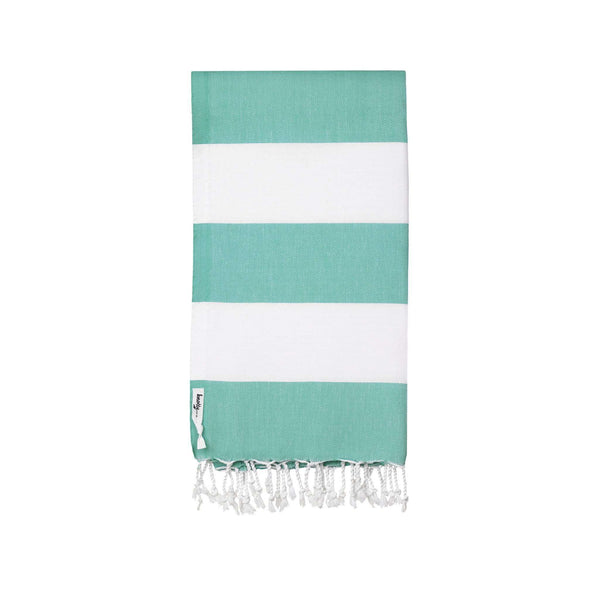 Knotty Capri Turkish Towel - CARIBBEAN