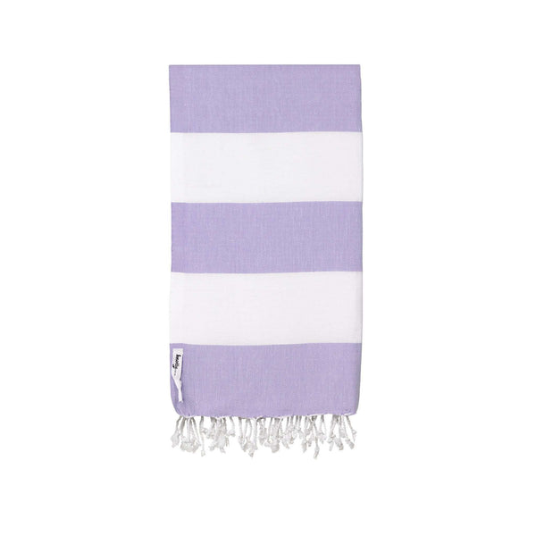 Knotty Capri Turkish Towel - LILAC