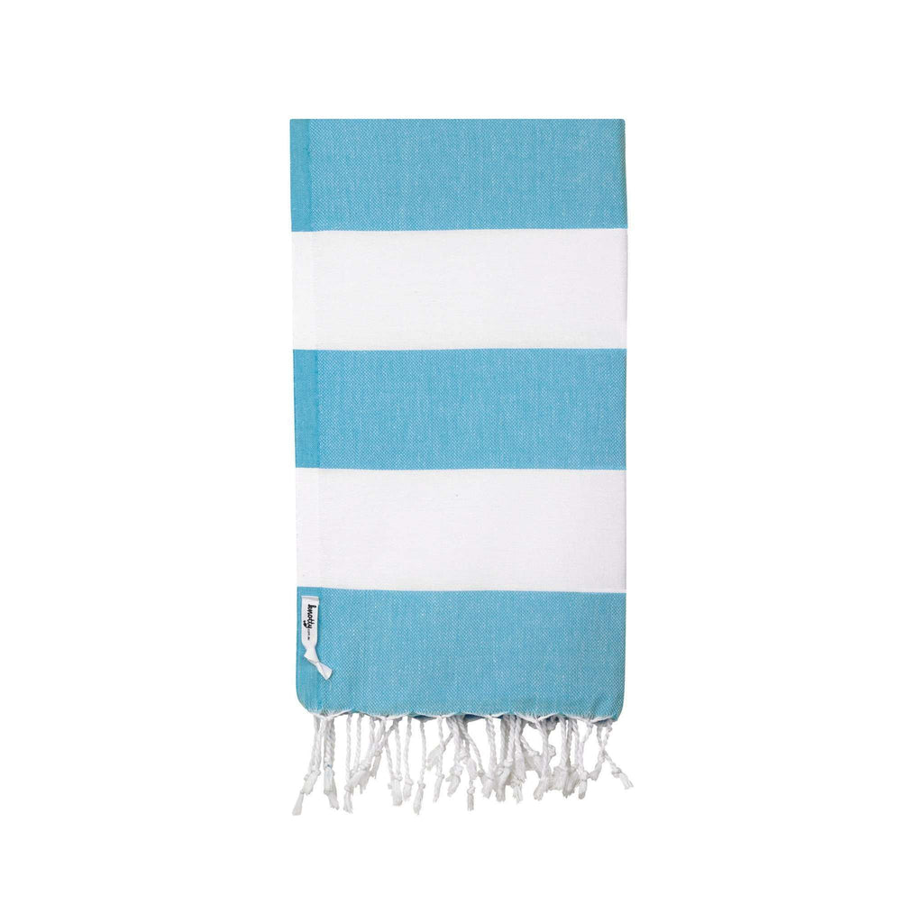 Knotty Capri Turkish Towel - MARINE - Knotty.com.au