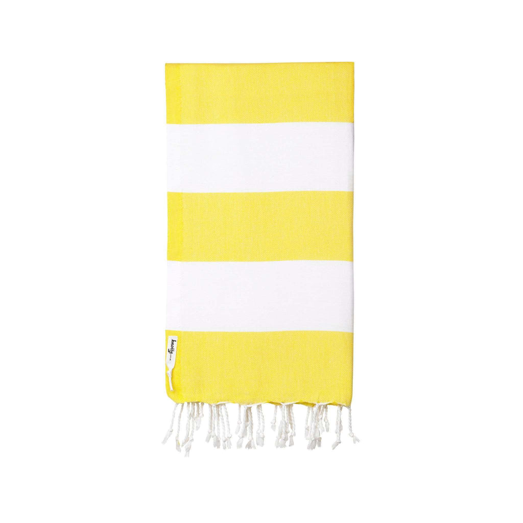 Knotty Capri Turkish Towel - SUNSHINE - Knotty.com.au