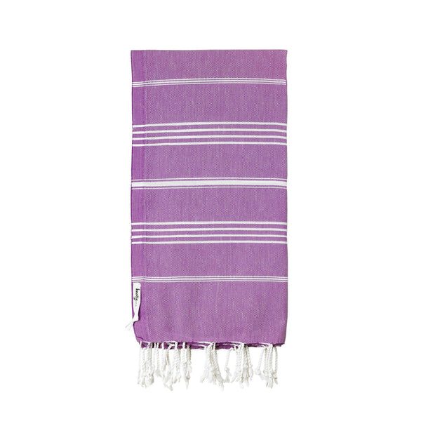 Knotty Original Turkish Towel - AMETHYST - Knotty.com.au