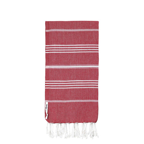 Knotty Original Turkish Towel - CHERRY