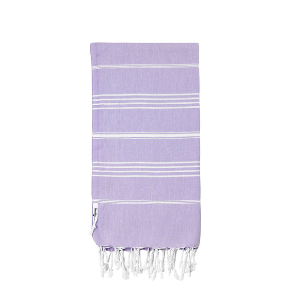 Knotty Original Turkish Towel - LILAC - Knotty.com.au
