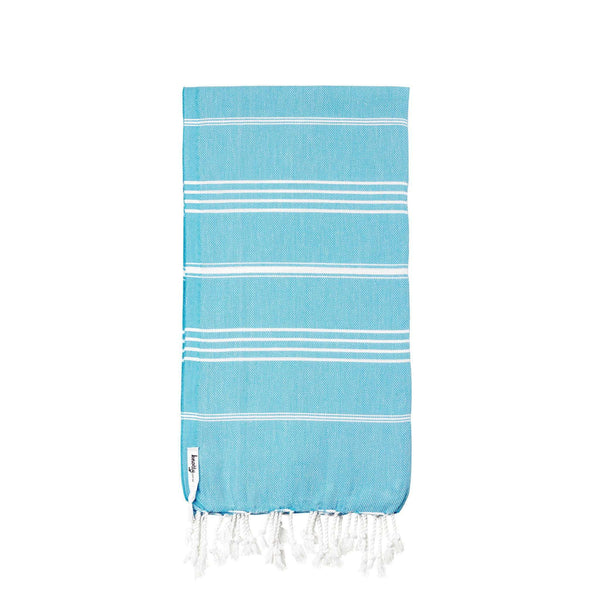 Knotty Original Turkish Towel - MARINE - Knotty.com.au