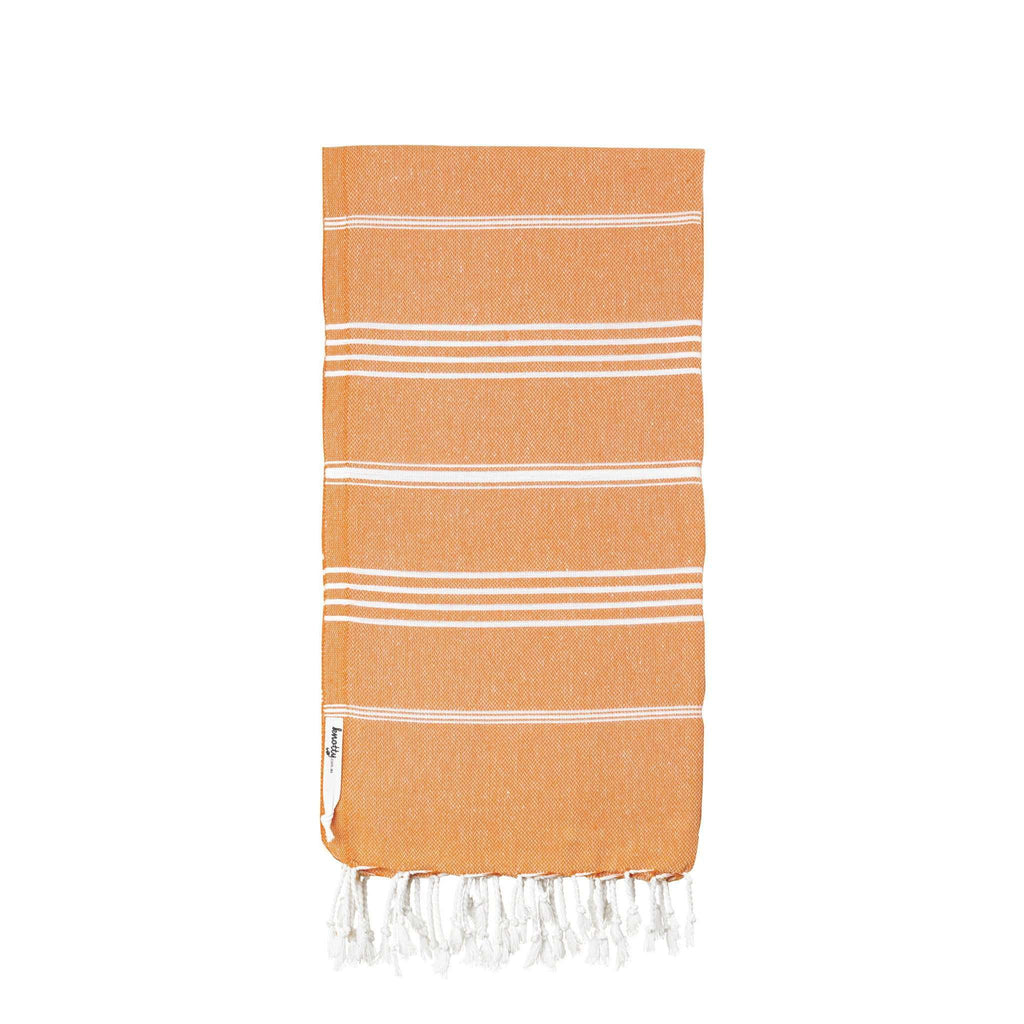 Knotty Original Turkish Towel - MELON - Knotty.com.au