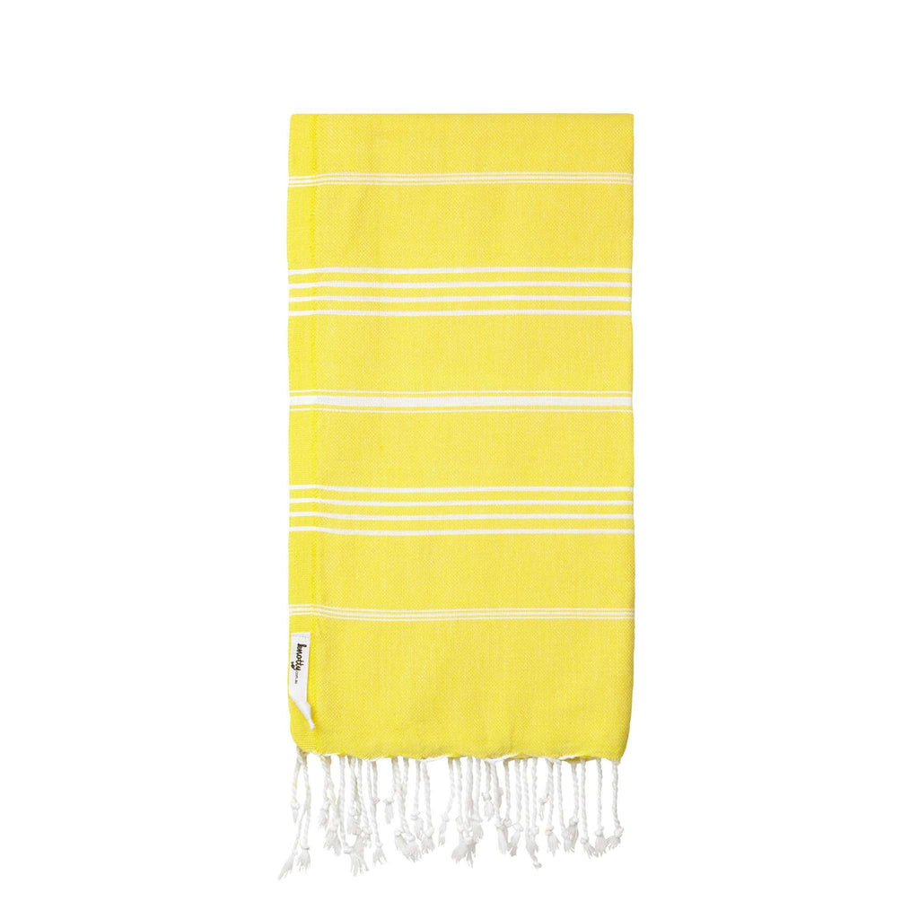 Knotty Original Turkish Towel - SUNSHINE - Knotty.com.au