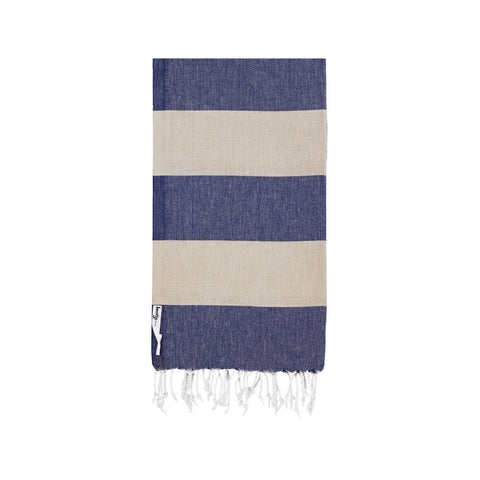 Knotty Superbright Turkish Towel - ADMIRAL