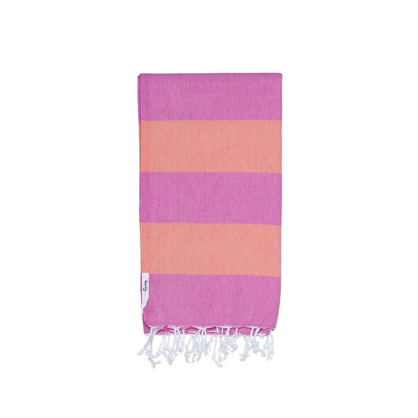 Knotty Superbright Turkish Towel - CANDY - Knotty.com.au