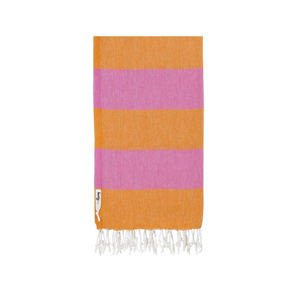 Knotty Superbright Turkish Towel - CARNIVAL