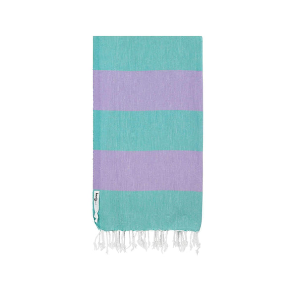 Knotty Superbright Turkish Towel - HARLEQUIN - Knotty.com.au