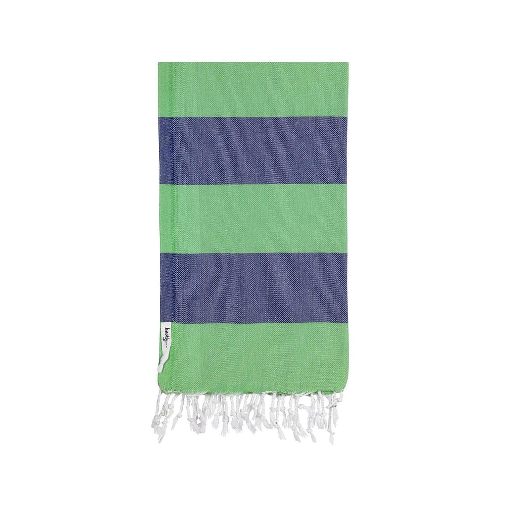 Knotty Superbright Turkish Towel - HUNTER - Knotty.com.au