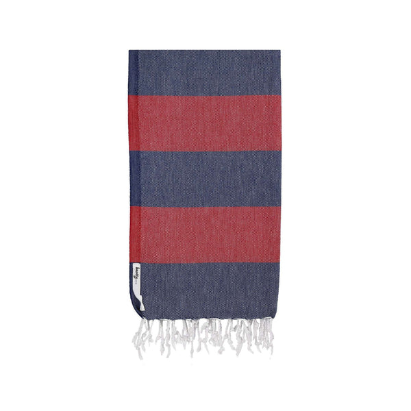 Knotty Superbright Turkish Towel - NAUTICAL - Knotty.com.au