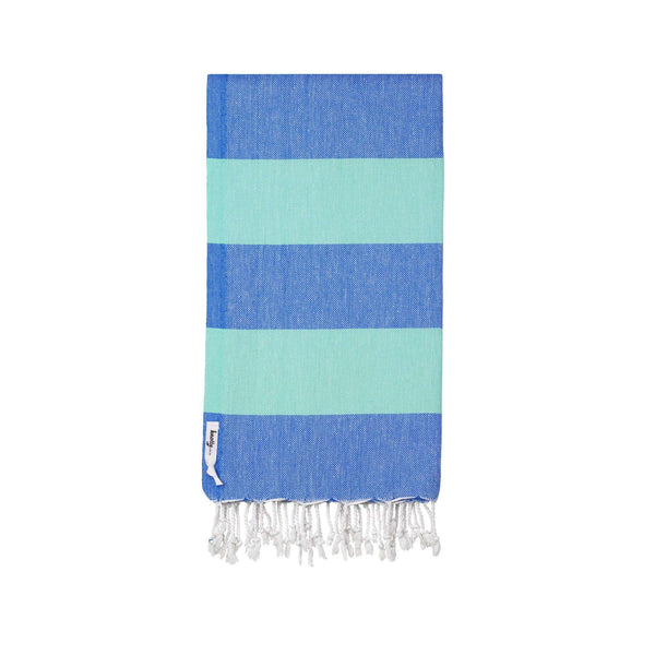 Knotty Superbright Turkish Towel - OCEAN