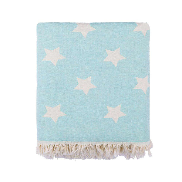 Oteki Knotty Turkish Towel - STAR Mint - Knotty.com.au