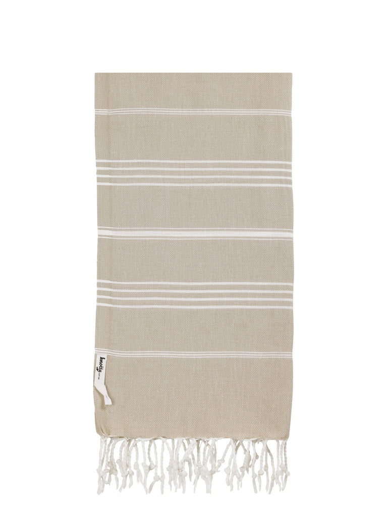 Knotty Original Turkish Towel - TAUPE