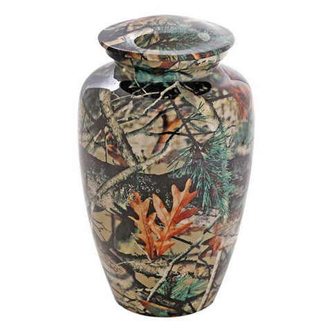 Camouflage Urn For Ashes, Bush Design 0