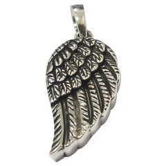 Angel Wings Keepsake Cremation Pendant in Silver